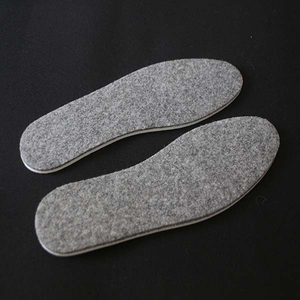 Comfortable Warm Wool Felt Insoles EVA Insole for Winter