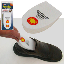 Healthy Memory Foam Insoles Half Pads Back Heel Support Insole