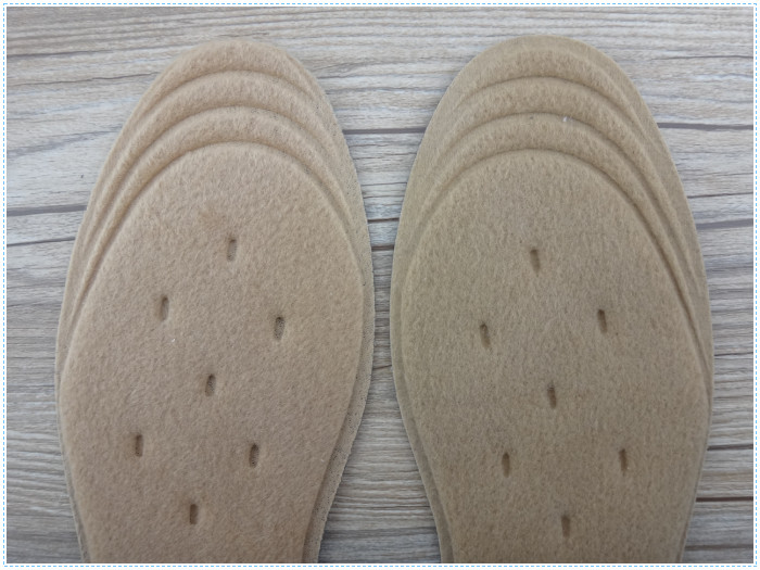 New Designed Wool Felt Heating Warm Insole Boot Warmer Inserts