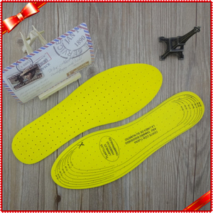 Cotton Latex Insole Sports Running Insole with Printed Logo