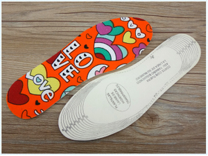 Soft Latex Insole For Kids Children's Shoe Liners