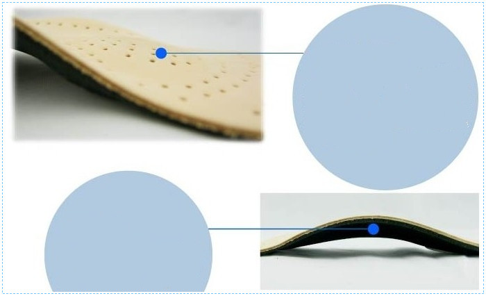 Breathable Best Genuine Leather Insoles Wholesale
