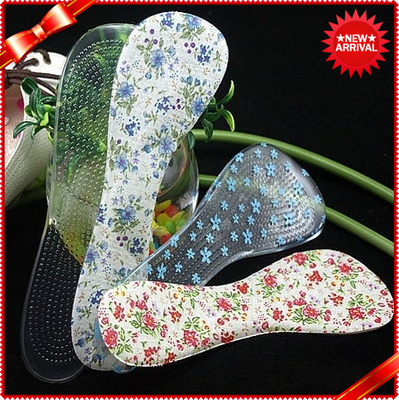 Soft PU Gel Insoles For Arch Padded Heel Protectors