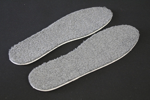 Aluminum Foot Warmer Inserts Insole for Gold Winter