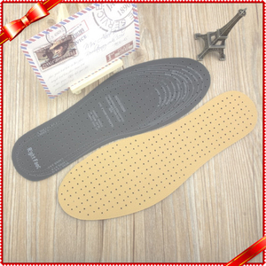 Breathable Artificial Leather Insoles Ireland Comfortable Pu Insoles