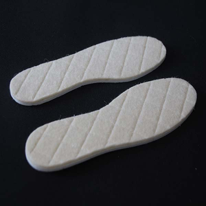 Custom Grid Warm Insole Comfort Insert for Winter