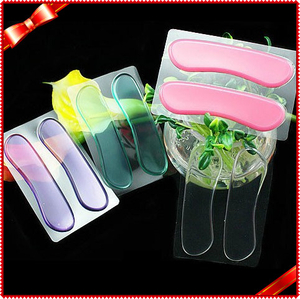 Convenient Gel Heel Strip Colorful Heel Pad Insoles for High Heel Sandals