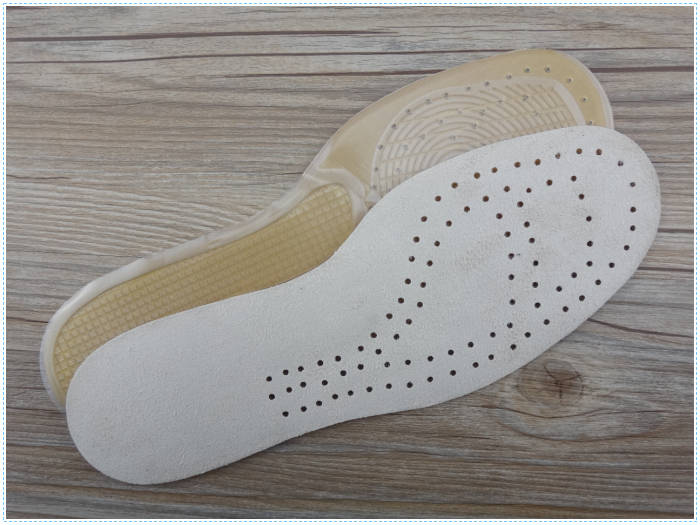 Shock Absorption Full Length Orthopaedic Insole Arch Support Massage Insole