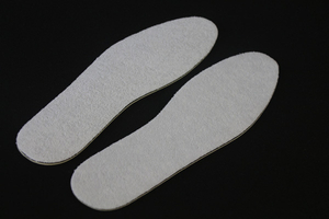 Convenient Non-woven Eva Walking Shoes Insoles Sanitary Insole