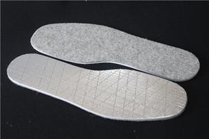 Warm Felt Grid Insole Hot Feet Insoles